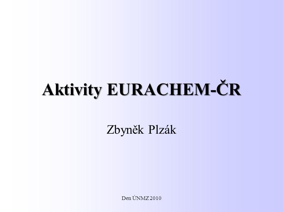Aktivity EURACHEM-ČR Zbyněk Plzák Den ÚNMZ 2010