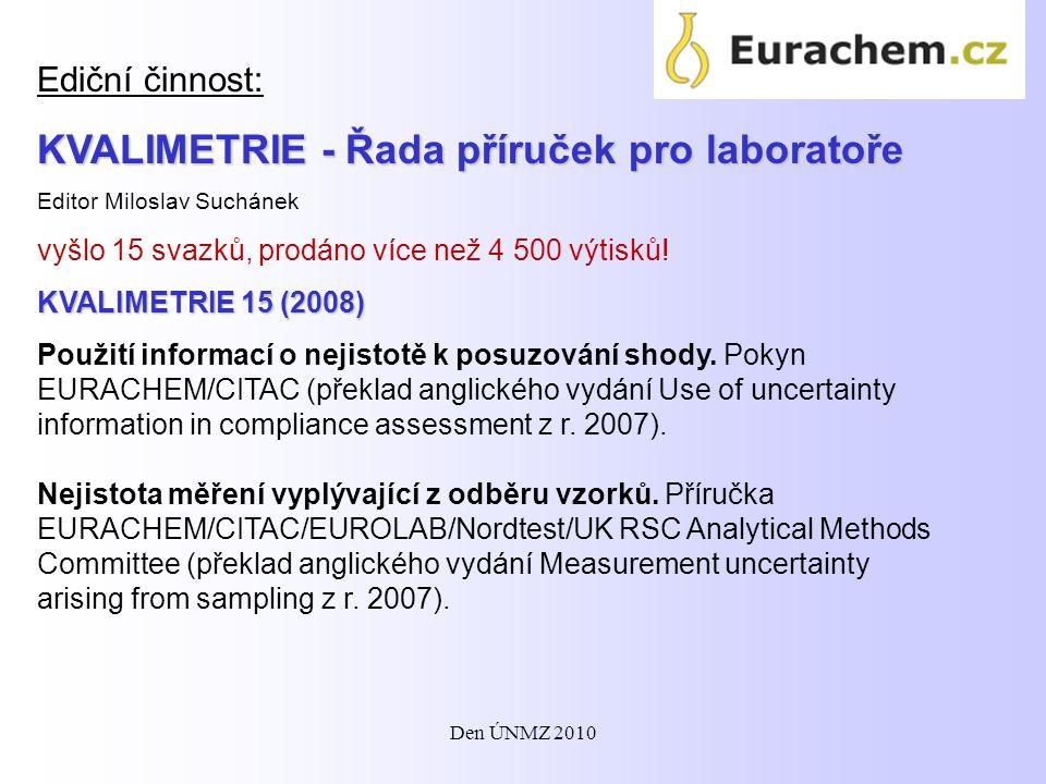 KVALIMETRIE - Řada příruček pro laboratoře
