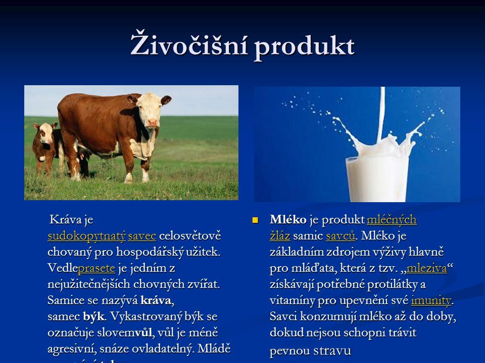 Živočišní produkt