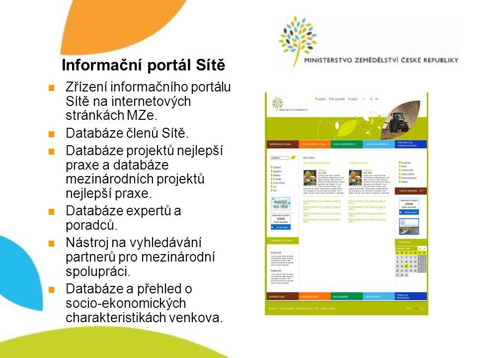 Informační portál Sítě