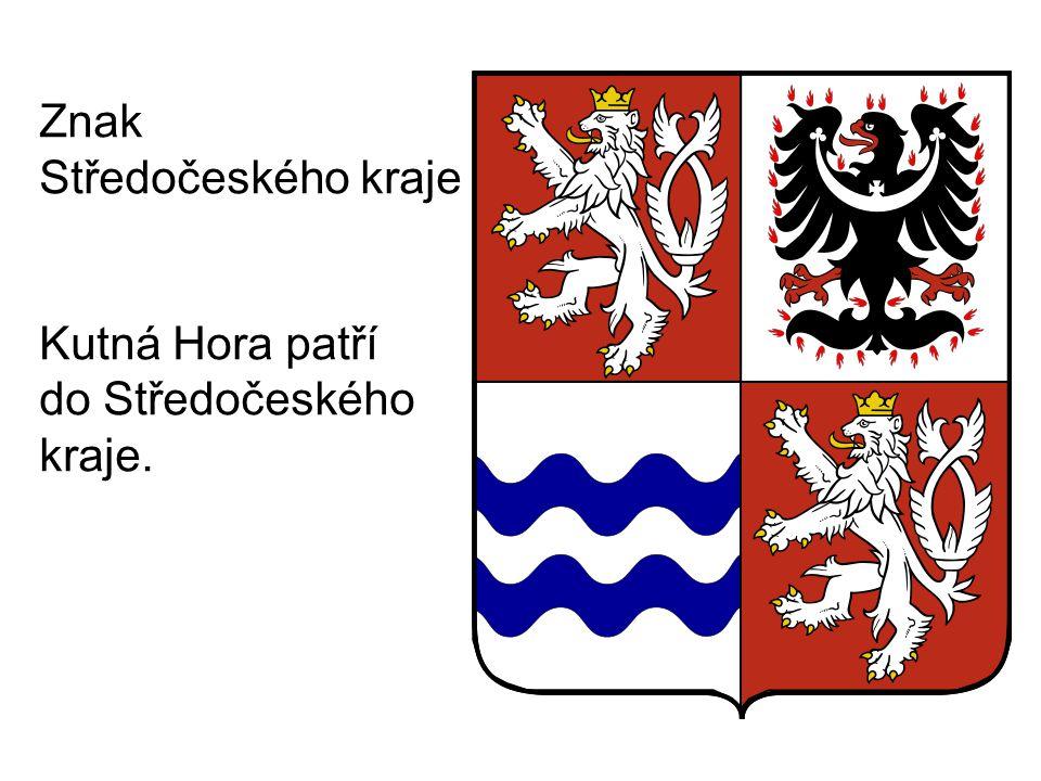 Znak Středočeského kraje Kutná Hora patří do Středočeského kraje.