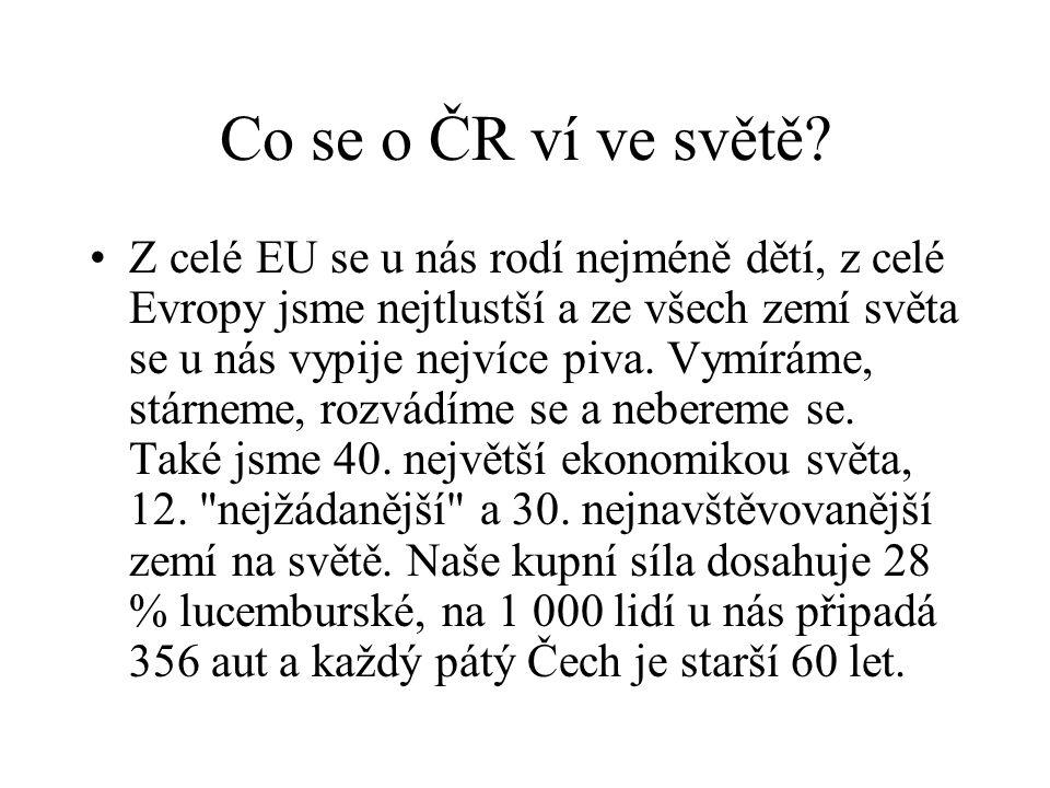 Co se o ČR ví ve světě