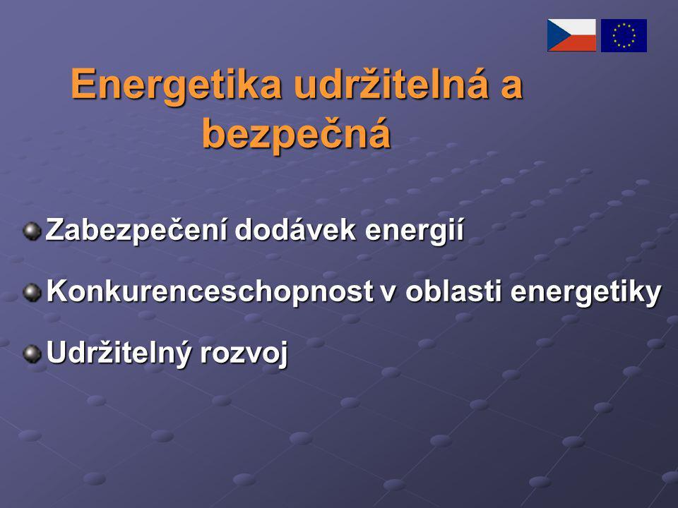 Energetika udržitelná a bezpečná