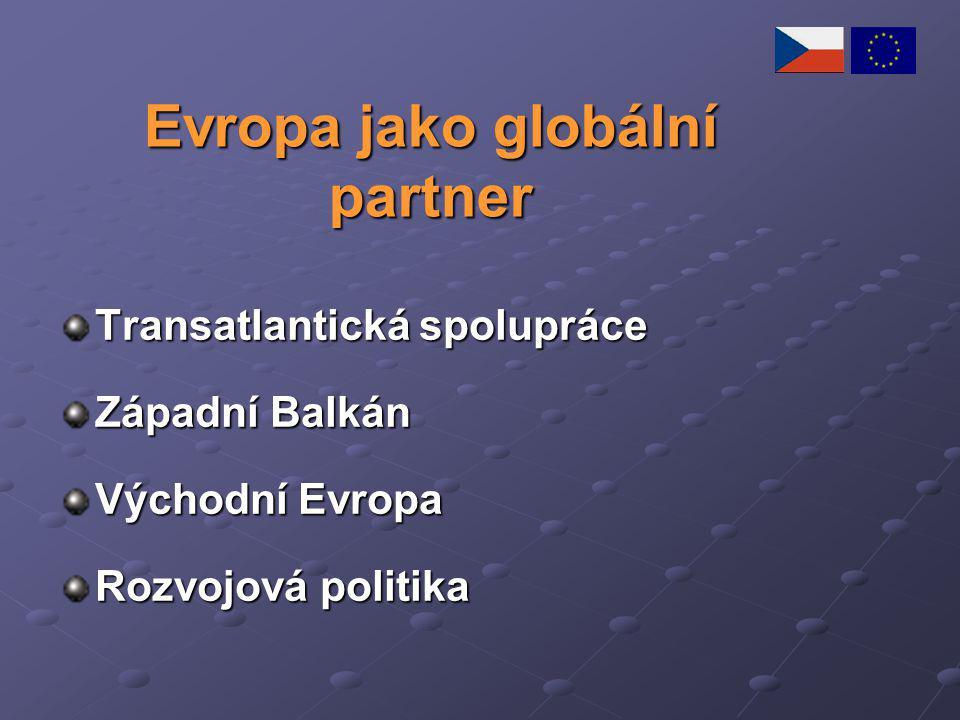 Evropa jako globální partner