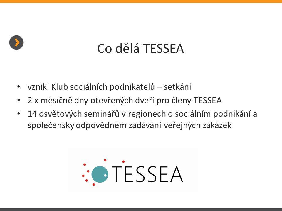 Co dělá TESSEA vznikl Klub sociálních podnikatelů – setkání