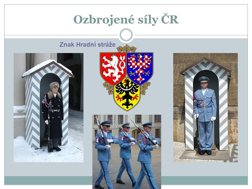Ozbrojené síly ČR Znak Hradní stráže