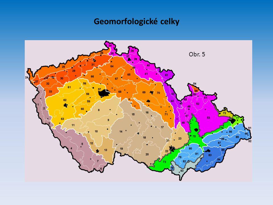 Geomorfologické celky