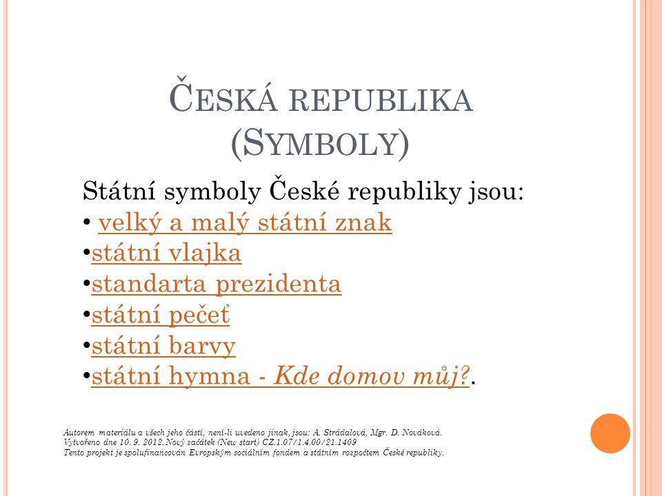 Česká republika (Symboly)