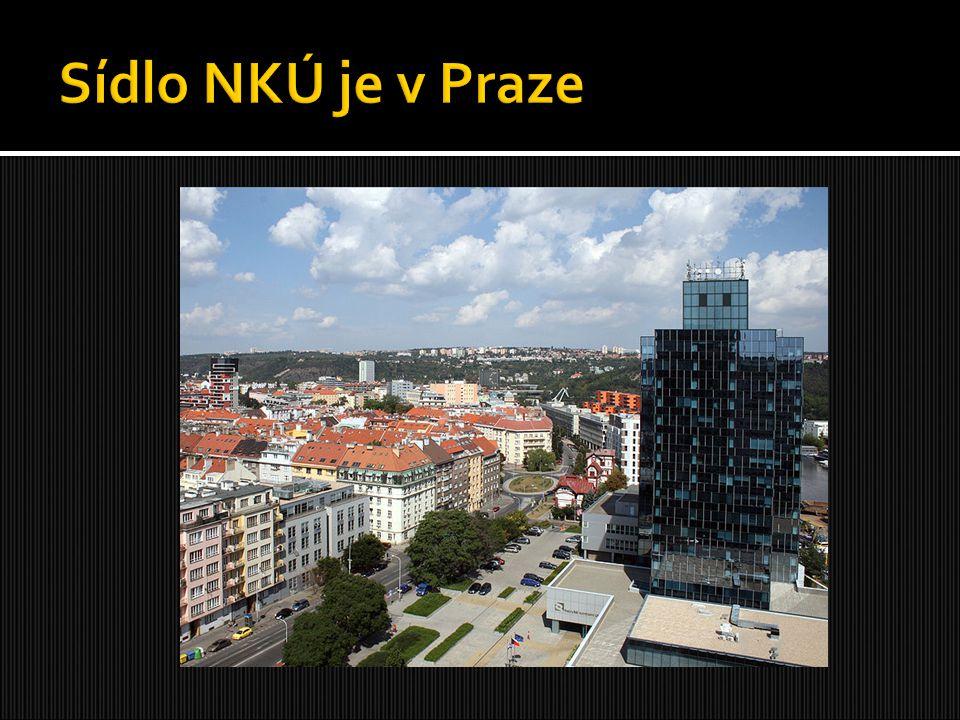 Sídlo NKÚ je v Praze