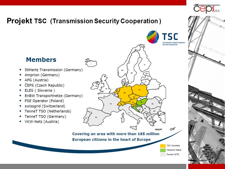 Projekt TSC (Transmission Security Cooperation )