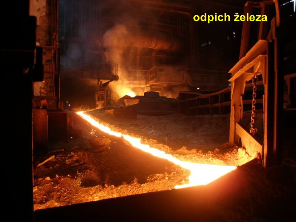 odpich železa