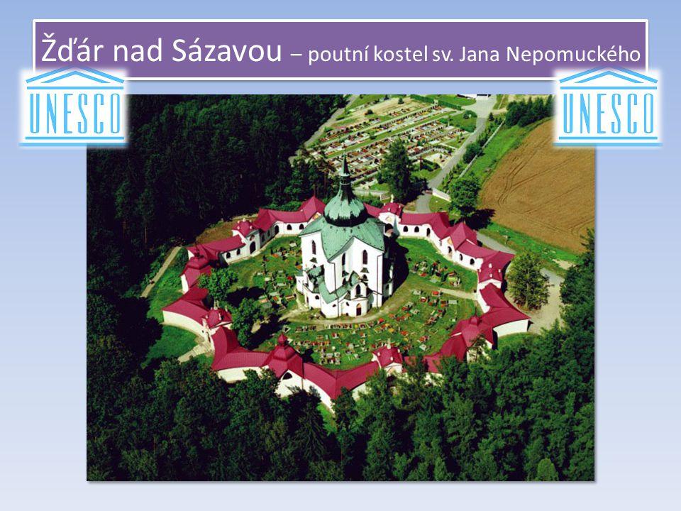 Žďár nad Sázavou – poutní kostel sv. Jana Nepomuckého