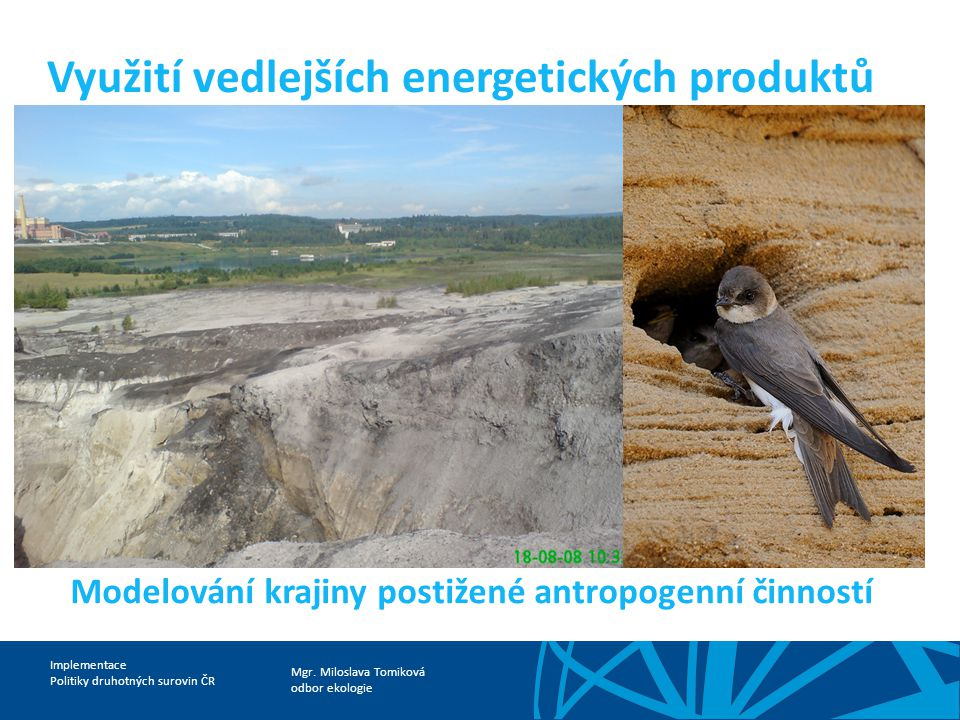Využití vedlejších energetických produktů