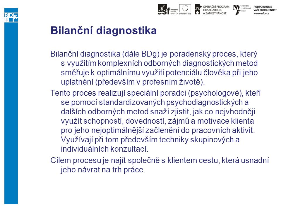 Bilanční diagnostika