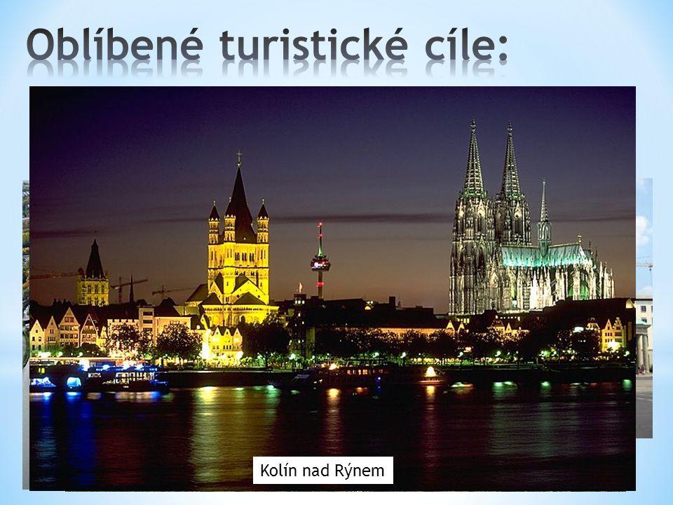 Oblíbené turistické cíle: