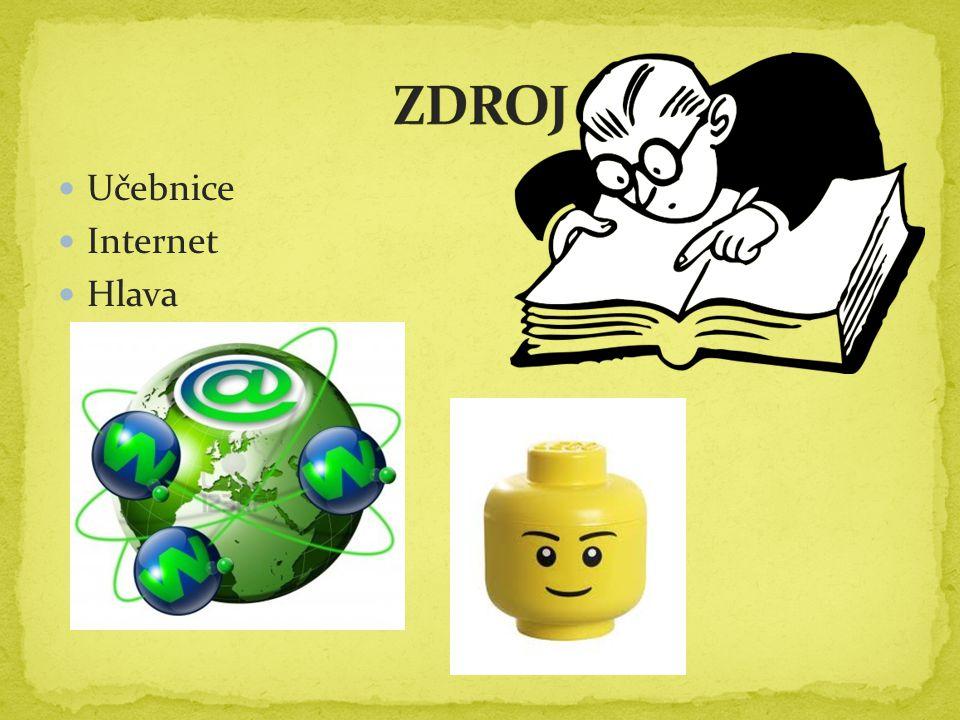 ZDROJ Učebnice Internet Hlava