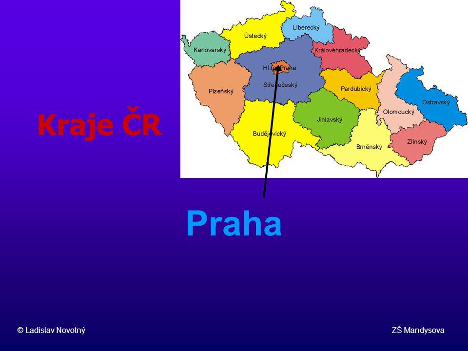 Kraje ČR Praha.