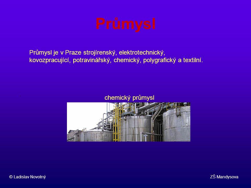 Průmysl Průmysl je v Praze strojírenský, elektrotechnický, kovozpracující, potravinářský, chemický, polygrafický a textilní.