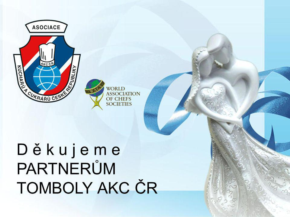 D ě k u j e m e PARTNERŮM TOMBOLY AKC ČR