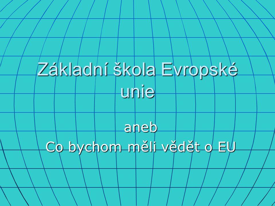 Základní škola Evropské unie