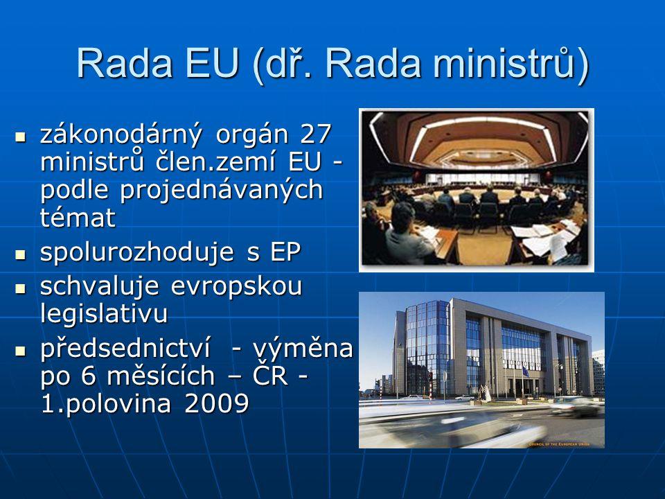 Rada EU (dř. Rada ministrů)