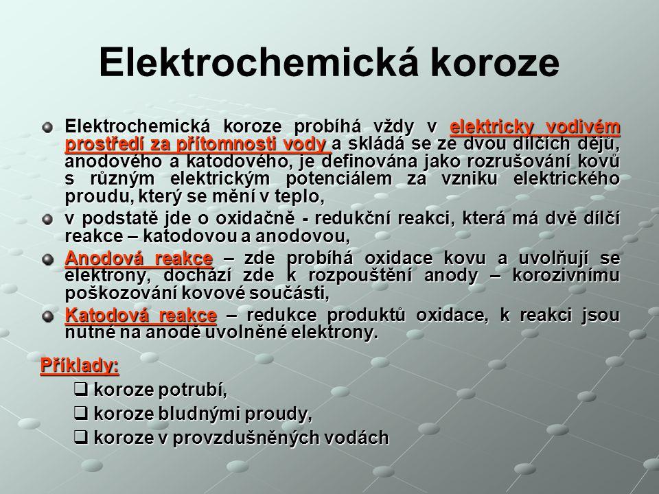 Elektrochemická koroze