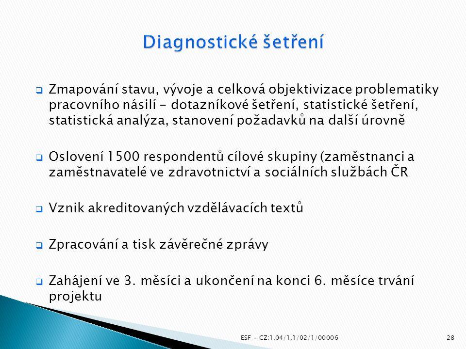 Diagnostické šetření