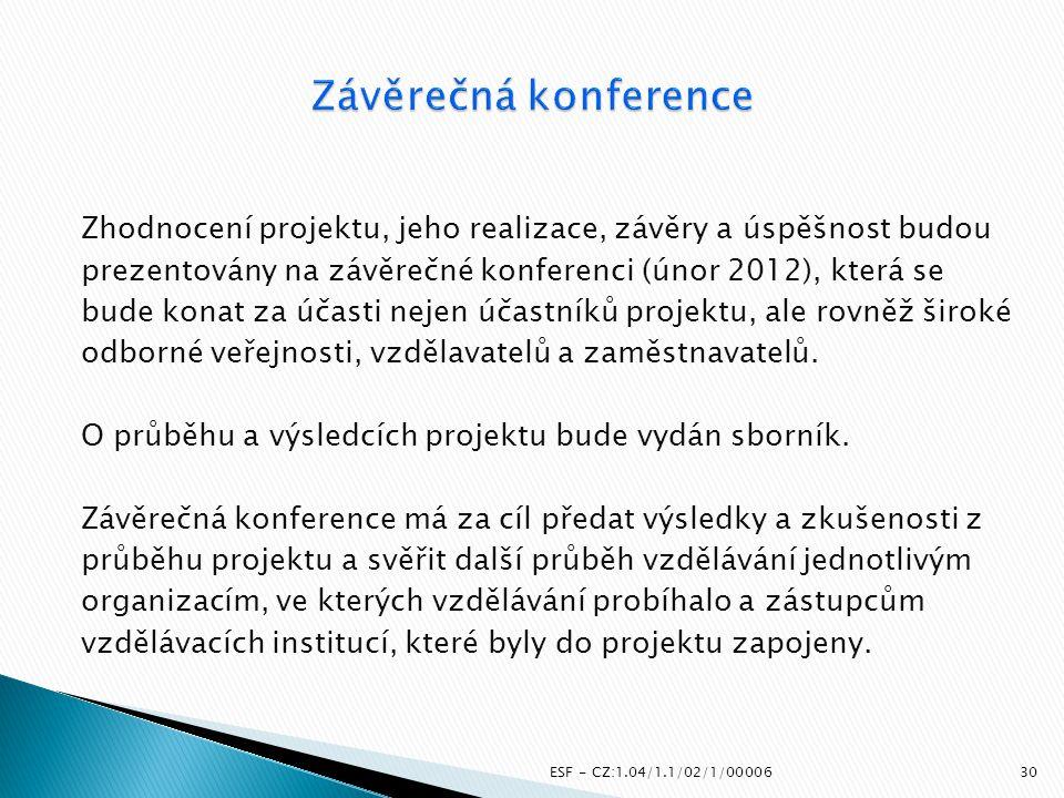 Závěrečná konference