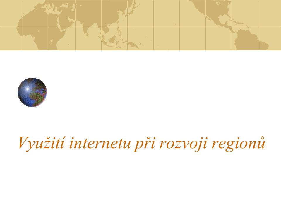 Využití internetu při rozvoji regionů
