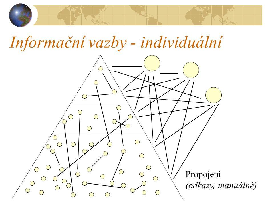 Informační vazby - individuální