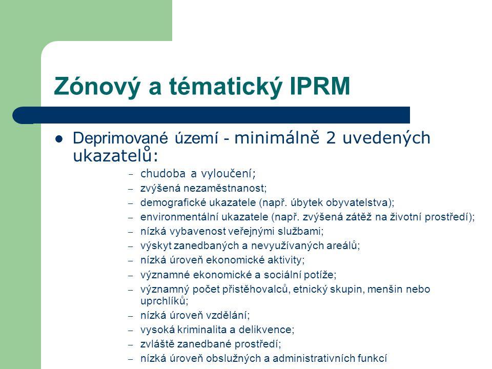 Zónový a tématický IPRM