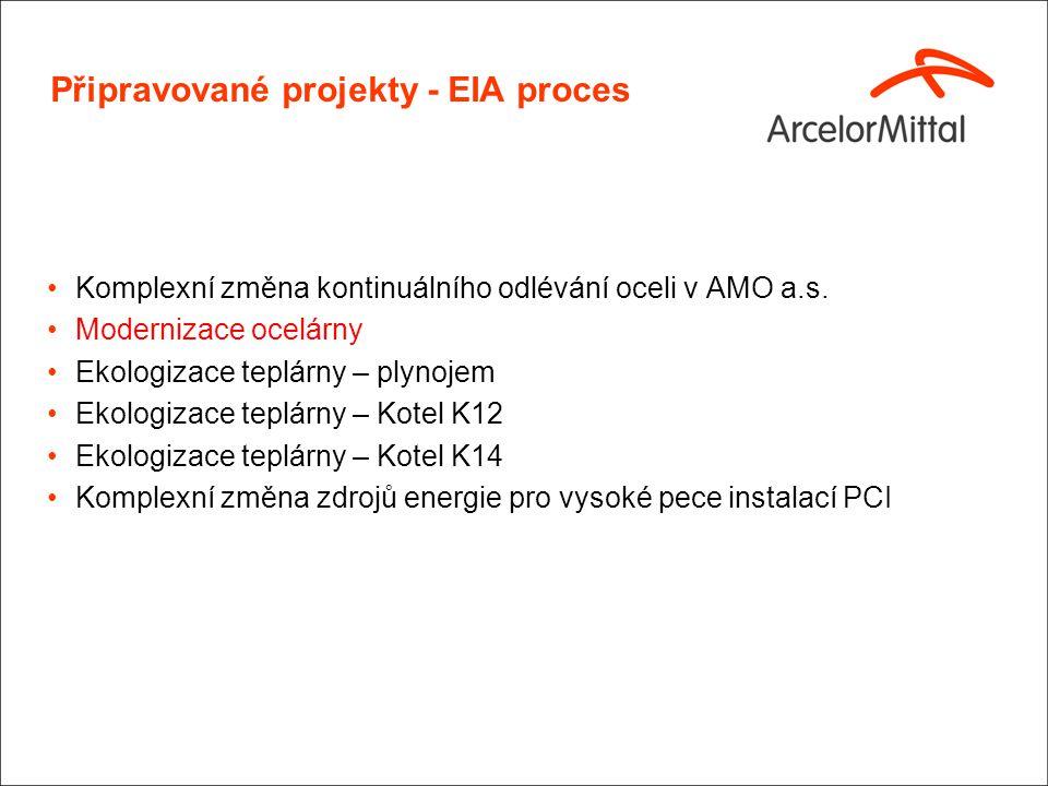 EIA Projekty – Modernizace ocelárny(1)