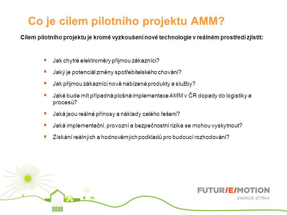 Co je cílem pilotního projektu AMM