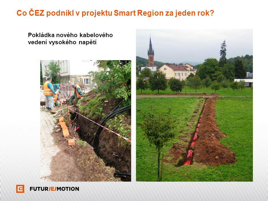Co ČEZ podnikl v projektu Smart Region za jeden rok