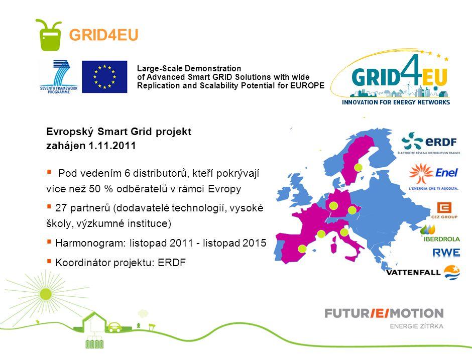 GRID4EU Evropský Smart Grid projekt zahájen 1.11.2011