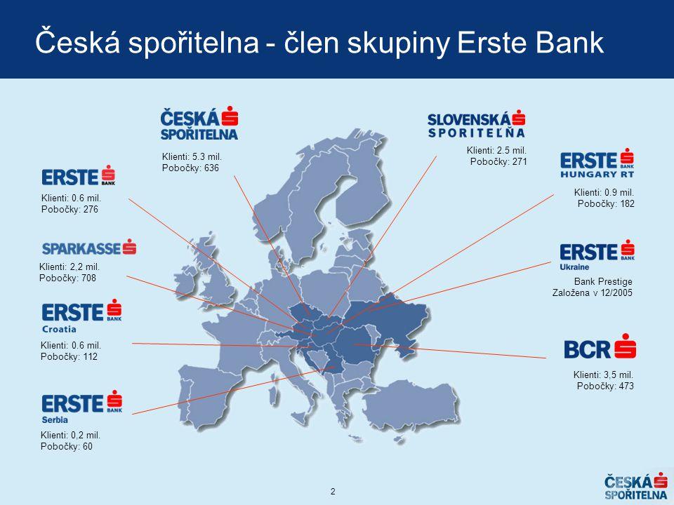 Česká spořitelna - člen skupiny Erste Bank