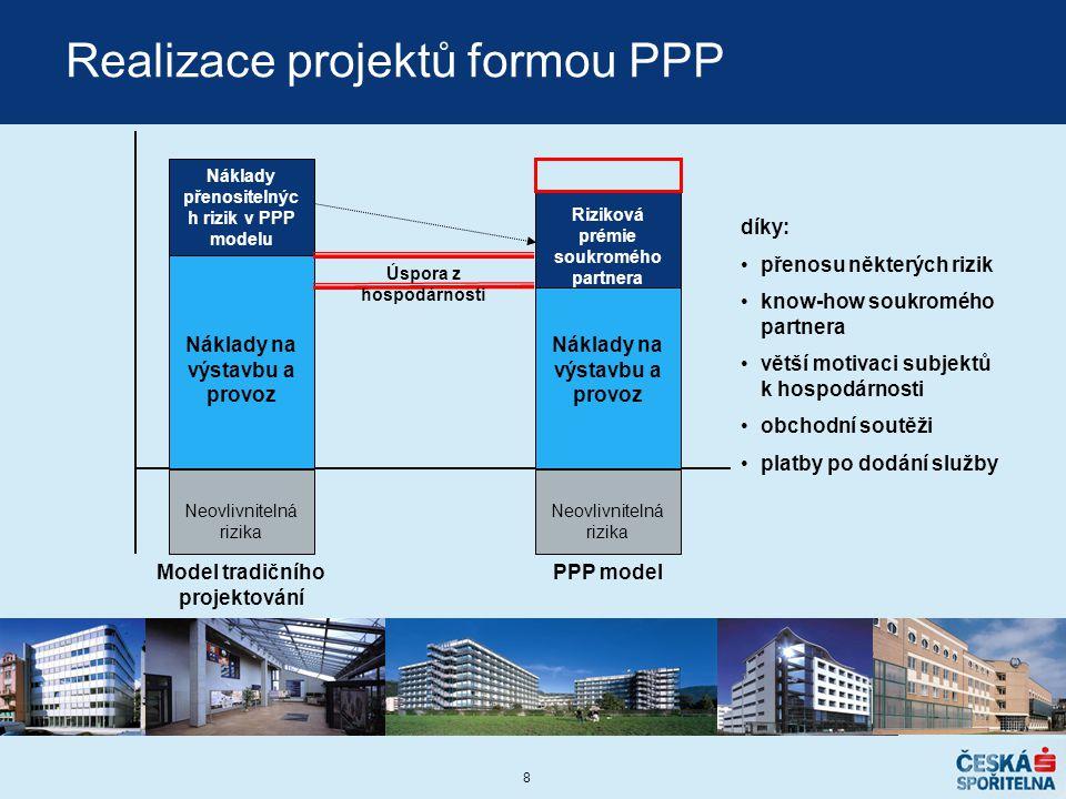 Realizace projektů formou PPP