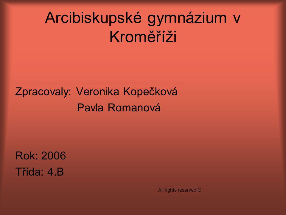 Arcibiskupské gymnázium v Kroměříži