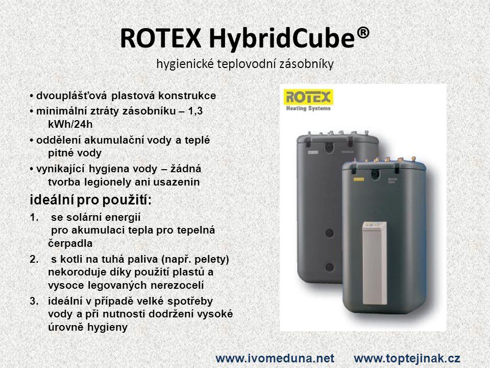 ROTEX HybridCube® hygienické teplovodní zásobníky