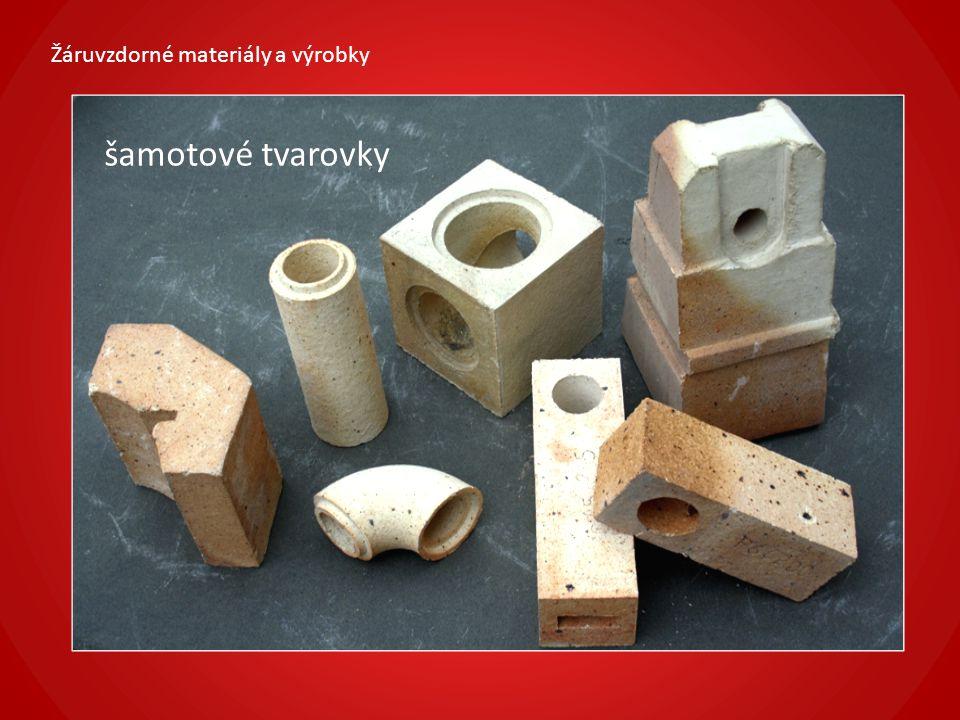 Žáruvzdorné materiály a výrobky