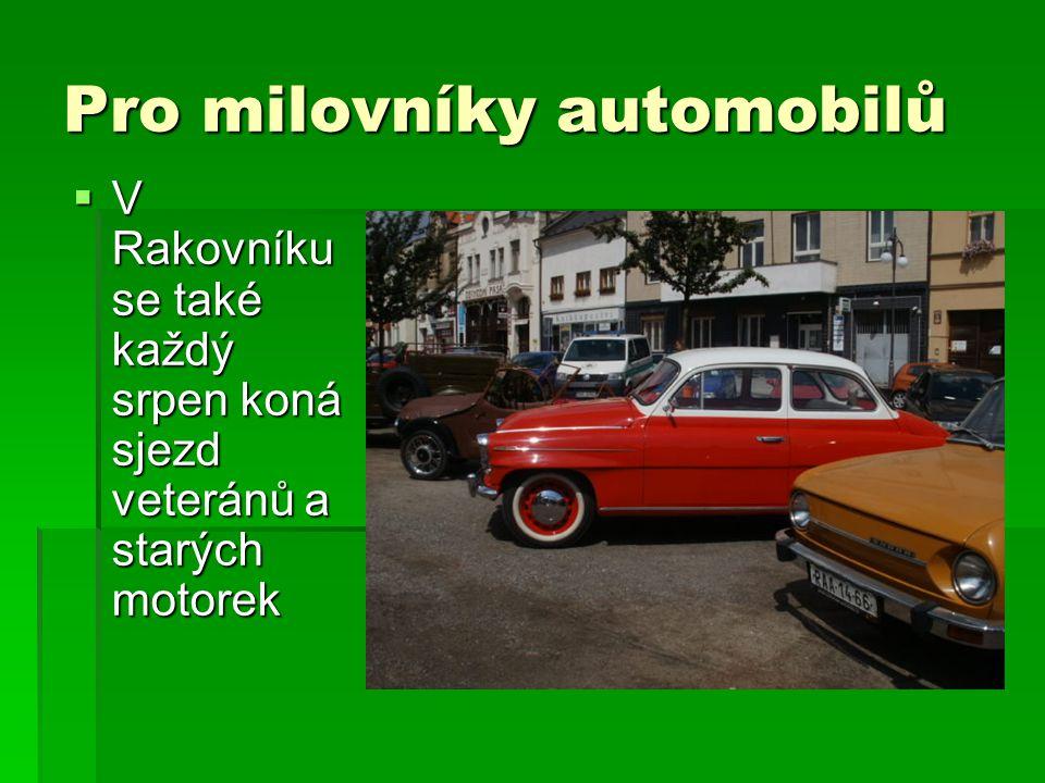 Pro milovníky automobilů