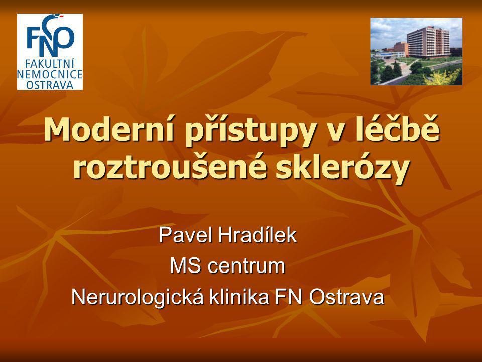 Moderní přístupy v léčbě roztroušené sklerózy