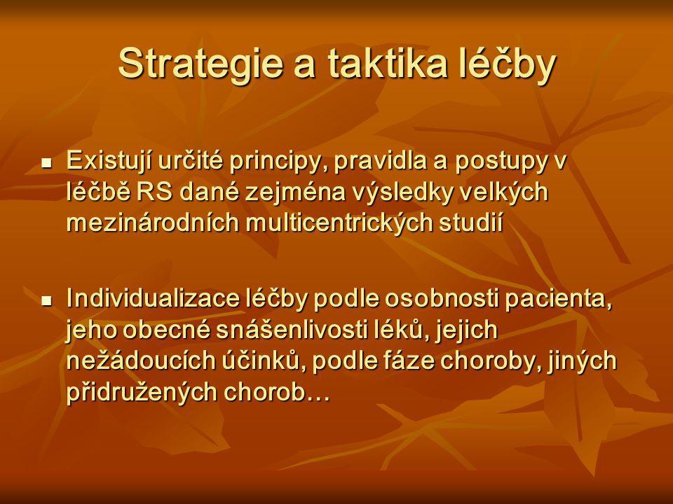 Strategie a taktika léčby