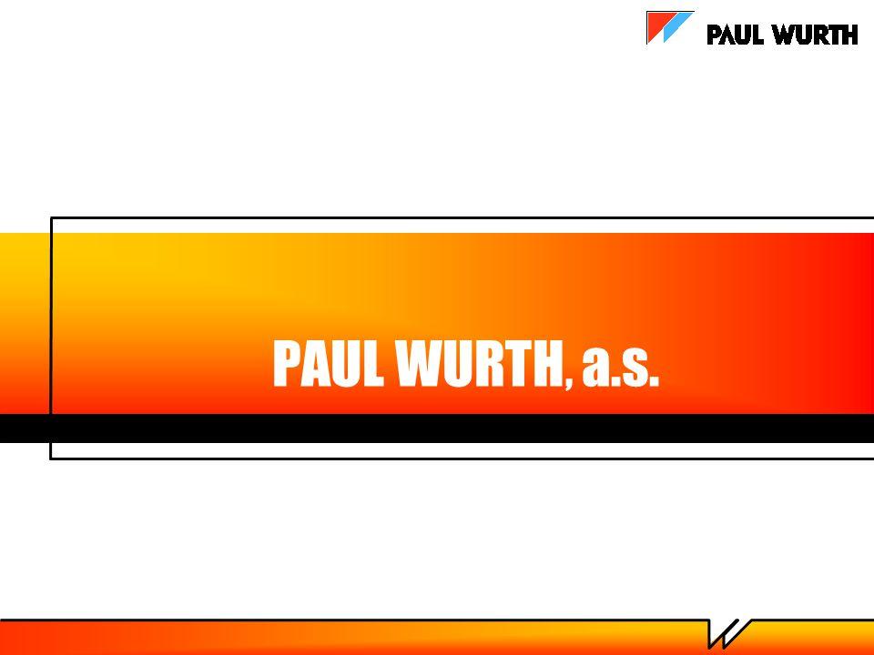 PAUL WURTH, a.s.