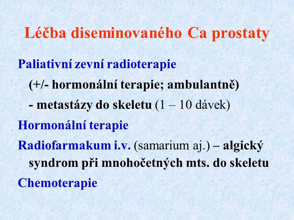 Léčba diseminovaného Ca prostaty