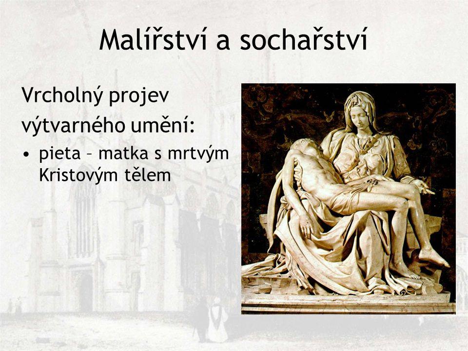 Malířství a sochařství