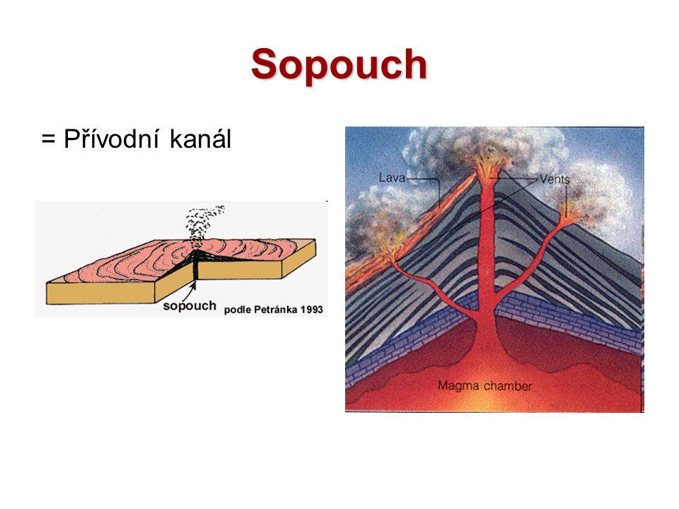 Sopouch = Přívodní kanál