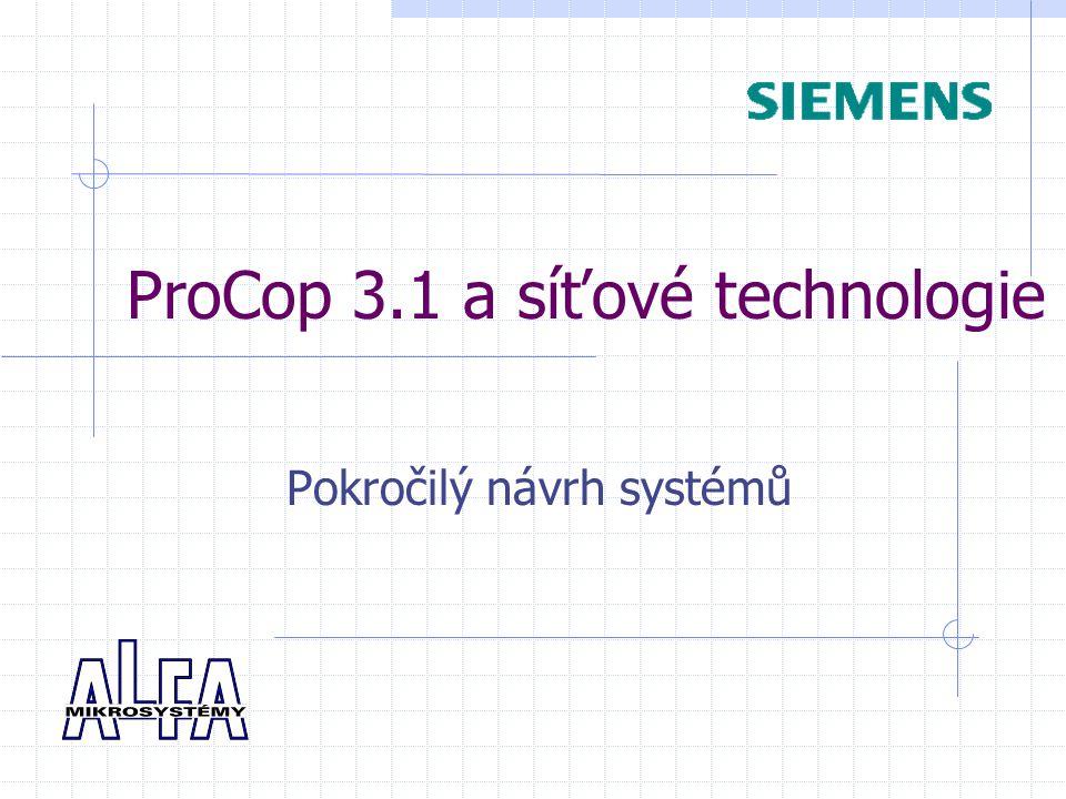 ProCop 3.1 a síťové technologie