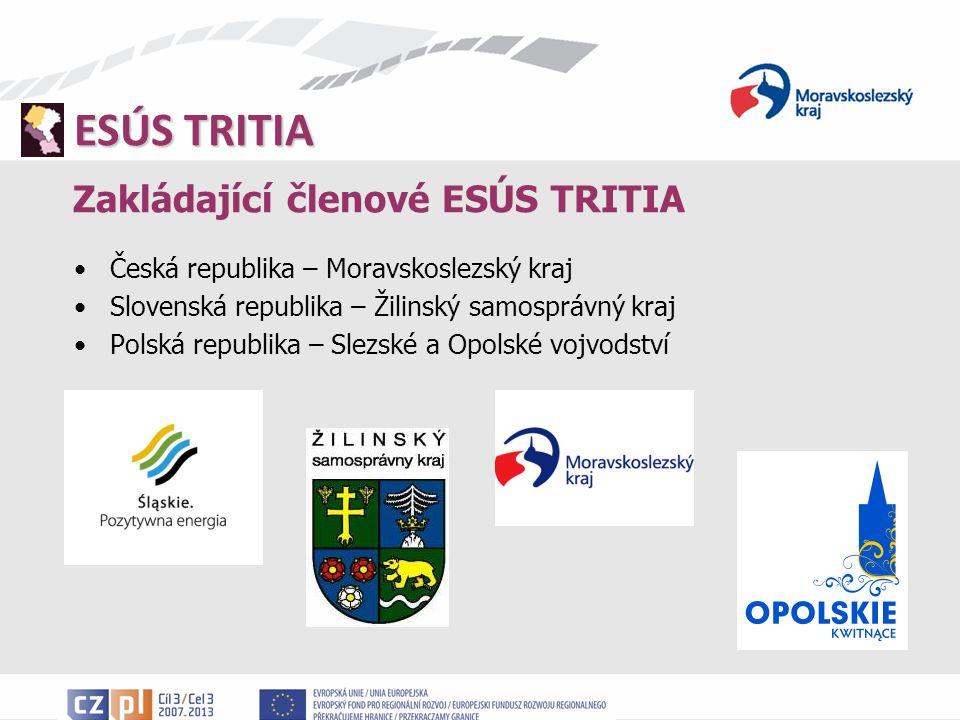 Zakládající členové ESÚS TRITIA