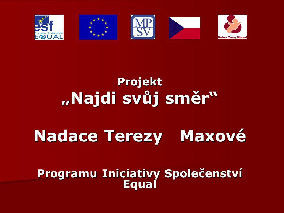 Nadace Terezy Maxové Programu Iniciativy Společenství Equal